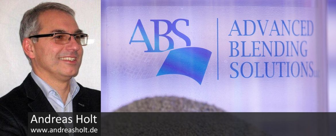 ABS PARTNERS WITH ANDREAS HOLT FOR EUROPEAN MARKET
