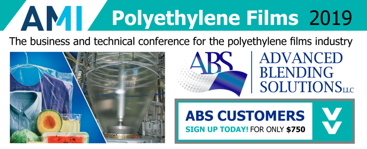 LOOK FOR ABS AT POLYETHYLENE FILMS 2019
