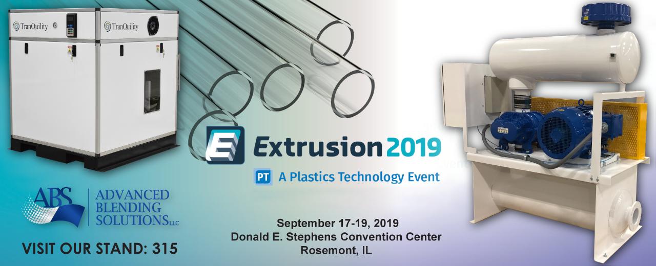 PLASTICS TECHNOLOGY'S EXTRUSION 2019